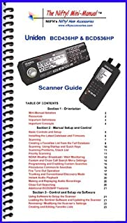 Uniden BCD436HP and BCD536HP Mini-Manual by Nifty Accessories