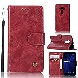 Guran® Housse en Cuir PU pour ASUS ZenFone 3 (5.2pouces) ZE520KL Smartphone Flip Cover Portefeuille...