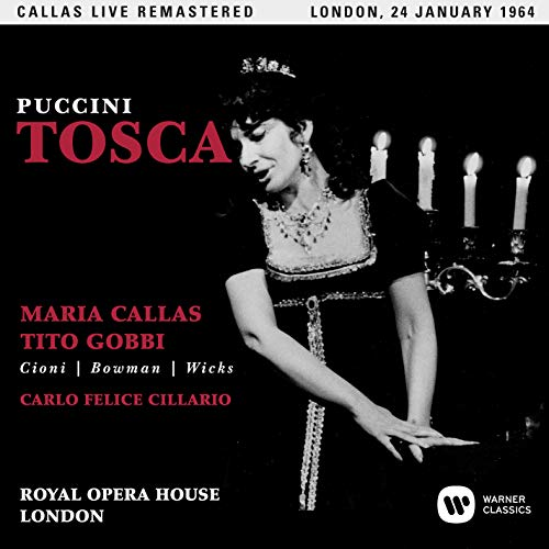 Tosca (Covent Garden,Live 24/01/1964)