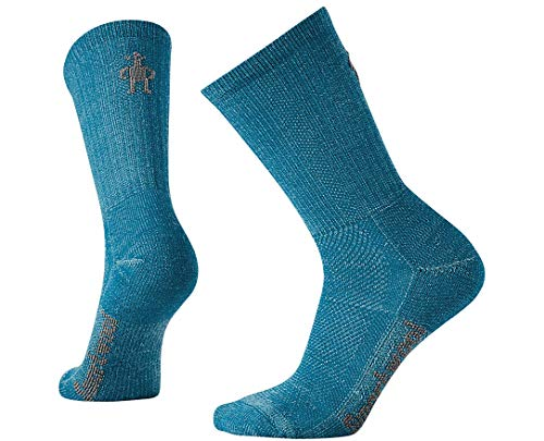 Smartwool Damen Hike Ultra Light Crew Sock, Blau (Glacial Blue), M