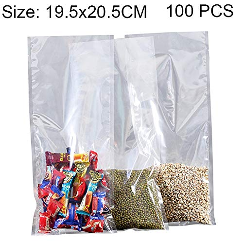 Review Of 100PCS Food Vacuum Packaging Transparent Plastic Bag Nylon Fresh-Keeping Bag, Size: 19.5cm...