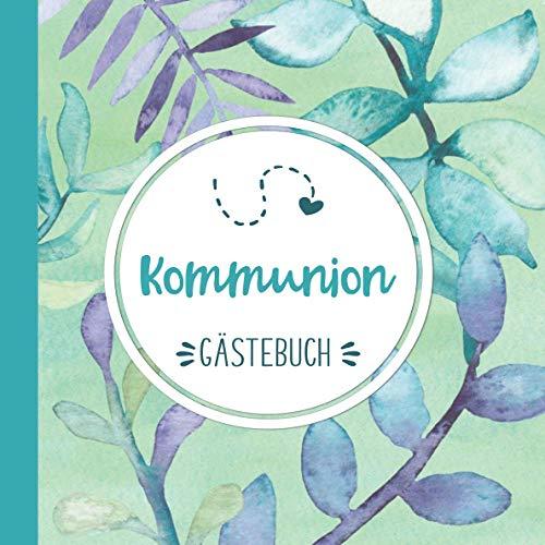 Kommunion: Tolles Geschenk zur Kommunion | Tolles Album zur Erinnerung | Gästebuch zum eintragen...