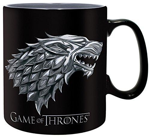Game of Thrones Stark - Winter is Coming Keramik-Becher schwarz
