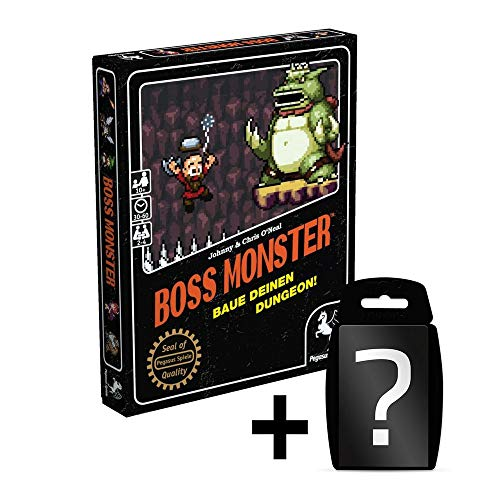 Boss Monster - Grundspiel - Kartenspiel | DEUTSCH | Set inkl. Kartenspiel