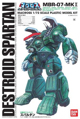 Bandai Macross 1/72 Scale Destroid Spartan MBR-07-MKII Construction Kit
