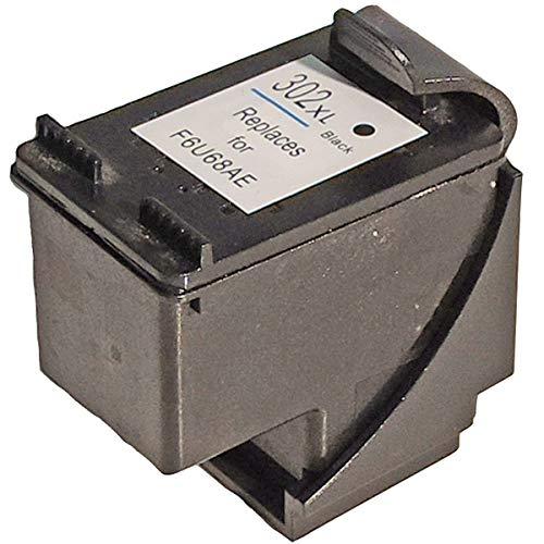 Refill HP F6U68AE, 302XL BK Schwarz Black Druckerpatrone für 480 Seiten von Gigao