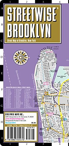 Streetwise Brooklyn: City Center Street Map of Brooklyn, New York (Streetwise (Streetwise Maps))