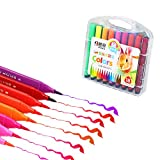 Shulishishop Marker Pennarelli Pennarelli Professionali Feltro Punte per I per I Bambini Colorazione Penne per I Bambini Bambini Colorazione Penne 18pcs