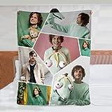 Collage Blanket Gubler Blanket for Home Decor Ultra-Soft Throw Blanket Lightweight Blanket Gift for Children/Adults 50in×40in