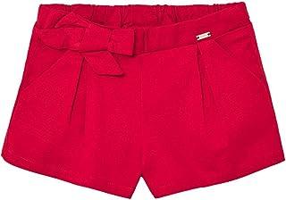 Mayoral Pantalón corto de raso para niña.