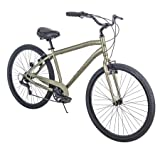 Huffy'' 27.5' Parkside SE Mens 7-Speed Comfort Bike with Perfect Fit Frame, Sage