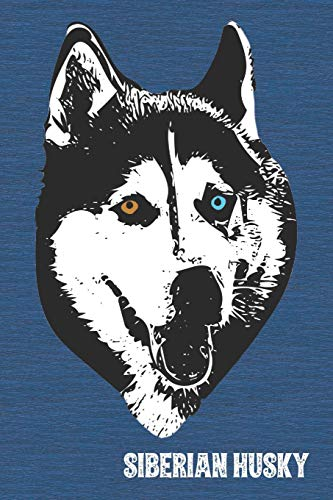Siberian Husky Lined Notebook: An Elegant Lined Journal For Sibe Owners (Pedigree...