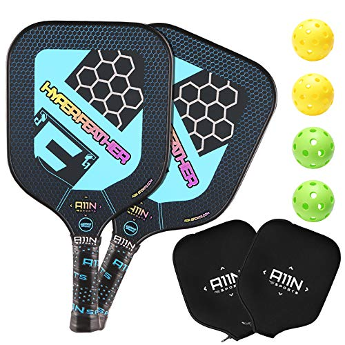A11N HyperFeather Pickleball Paddles Set review