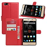 HualuBro Elephone M2 Case, Premium PU Leather Wallet Flip