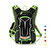 LOCALLION Cycling Backpack Biking Daypack Bike Cycling Rucksack for Outdoor Sports Running Hydration Pack Men Women 18L