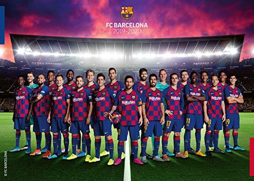Ravensburger 19941 FC Barcelona Saison 2019/2020 Puzzle, Mehrfarbig, 37x27x6 cm