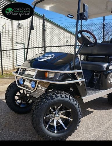EZGO TXT Electric Golf Cart 1994-2001 6' Lift Kit + 12' Wheels and 23' All Terrain Tires (4)