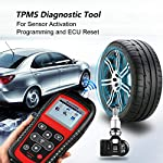 Autel MaxiTPMS TS501 TPMS Relearn Tool Automotive Scan Tool with Activate TPMS Sensors/TPMS Sensor Programming/Program… 15 【Upgraded Version of TS408, 2021 Newest】TS501 TPMS Tool can diagnose newest models up to 2020 with frequent updates. It packed ALL TPMS service options: TPMS programming(MX-Sensors), sensors Relearn/Activation, TPMS Reset and TPMS health diagnose, read sensor data, key fob frequency test. Please send VIN to : ❤Autelonline @outlook.com❤ CHECK COMPATIBILITY. 【TPMS Programming】 TS501 TPMS Programming Tool enables all car enthusiasts to program sensor data to Autel MX-Sensors with ease, saving you the money and trip to a dealership. With TS501, you can program AUTEL MX-Sensor (315/433MHz) with 4 programming options: Copy By Activation, Copy By Manual Input, Auto Create and Copy by OBD( Not available with TS408) to replace the faulty sensor with low battery life or one that is not functioning well. 【Relearn All TPMS Sensors】TS501 has added Relearn by OBD comparing with TS408. To turn off the TPMS warning light after replacement, you need to relearn the sensors to the vehicle! Autel TS501 TPMS Relearn Tool provides 3 ways of on-tool relearn precedures to relearn both OE and aftermarket sensors: Stationary Relearn, Automatic Relearn & OBD Relearn.