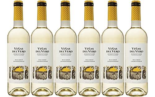 Viñas Del Vero Blanco Macabeo-Chardonnay - Vino D.O. Somontano - 6 bo