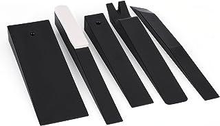 PQZATX Leather Custodia Protettiva per Copertura Freno a Mano per//Accord 8 Linea Rossa Nera