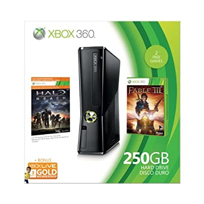 Xbox 360 250GB Holiday Value Bundle (OLD MODEL) by Microsoft