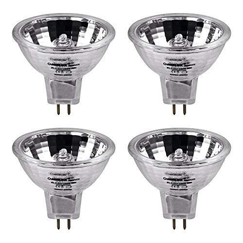 Omnilux ELC 24 V 250 W Lampe GX5.3 Reflektor Projektorlampe 50 mm DJ Disco Licht 4 Stück