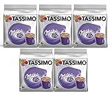 Tassimo Chocolat Chaud Milka 40 boissons (Pack de 5x8 Tdisc)
