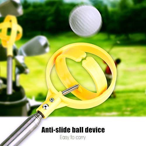 Golf Ball Retriever Telescopische praktische golfbal Pick-Up Tool apparaat Retriever Scoop Golfbal Accessoires
