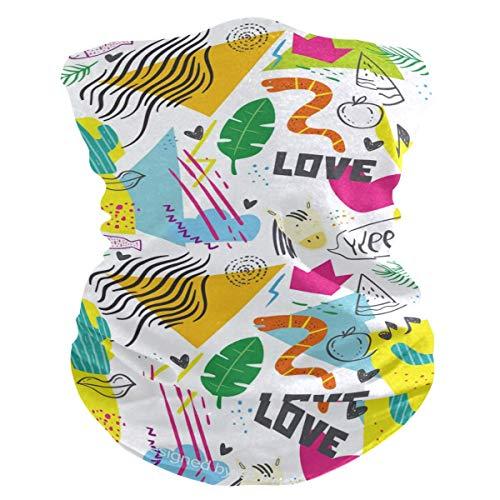 Multi5 Neck Gaiter Frauen Gesicht Schal Cover-Dust, Sturmhaube Face Cover Bandana Flat Butterflies
