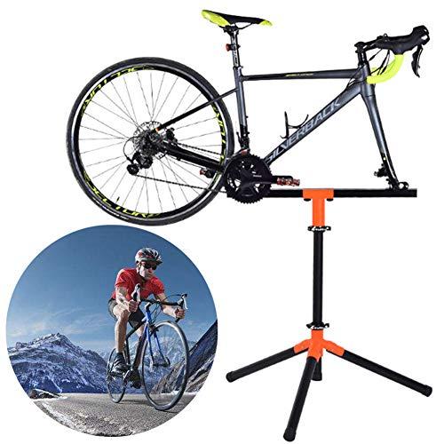 Gowell Montageständer Reparaturständer für Ihr Fahrrad E-Bike MTB 3-beiniger Stativfuss für Fahrräder bis 60 kg Fahrradmontageständer klappbar