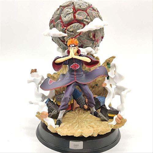 LHLBD Anime Naruto Shippuden GK Nagato Deva Path Pain Chibaku Tense Estatua PVC acción Figure23Cm Modelo Coleccionable muñeca Juguetes Regalo