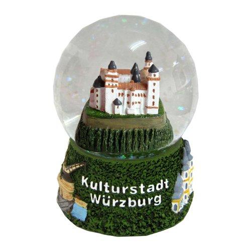 Souvenir Schneekugel Kulturstadt Würzburg - 30008