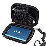 WERICO Duro Estuche Viajes Funda Bolso para Samsung T5 / T3 500GB 250GB 2TB 1TB Disco Estado sólido...