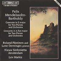 メンデルスゾーン:2台のピアノのための協奏曲