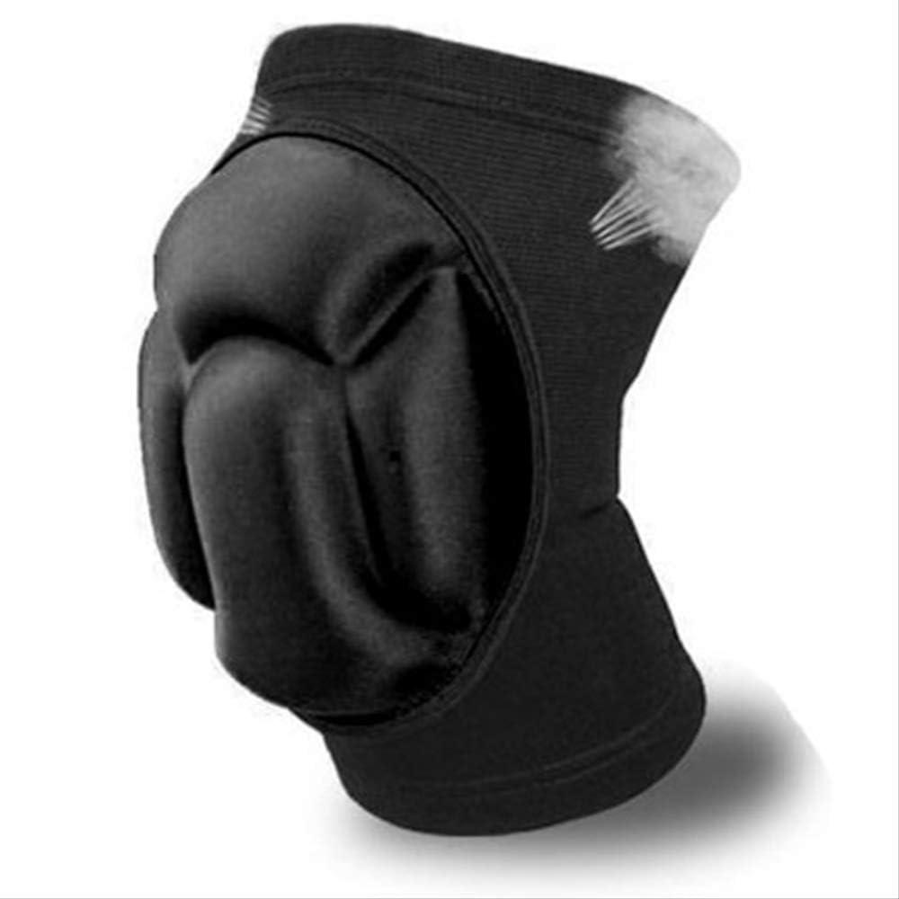 PMWLKJ Refuerzo de rodilla de 2 piezas Refuerzo del codo Soporte redondo Protege las rodilleras del trabajador Protectores externos de rodilla extremos