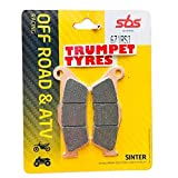 Triumph Tiger 800 XCA/XCX/XRT/XRX/XRX Low 18-19 2018-2019 SBS Performance Front off Road Racing Sintered - Set di pastiglie per Freno sinterizzate, qualità OE 671RSI