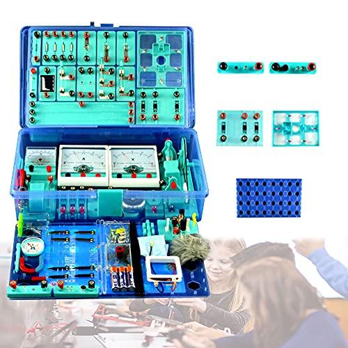 LXX Kit Circuito Electrico Escolar para Niño Juegos de Experimentos para Niños...