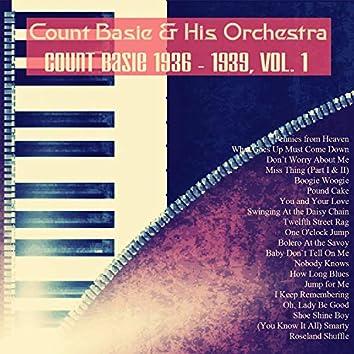 Count Basie 1936 - 1939, Vol. 1