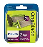 Philips OneBlade Replacement Blades, 2 Pack, QP220/50