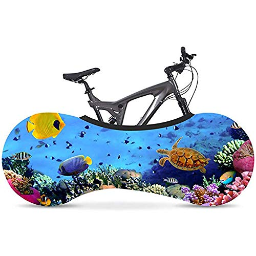 Universal Bike Cover Marine Series High Elastic Fiets Wiel Cover Mountain Bike Stofhoes