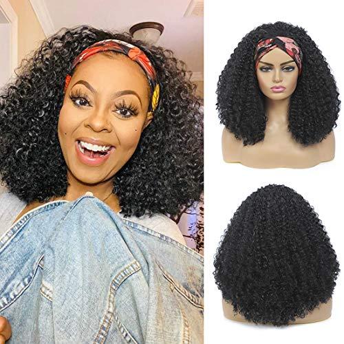 Headband Wig Afro Kinky Curly Hair …