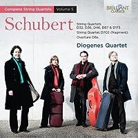 Schubert: String Quartets, Vol. 5 by Diogenes Quartet