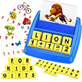 Learning Toys for Kids 3-8 Years Old,Educational Toys Matching Letter Games for Toddlers 3-8 Year Olds,5-7 Year Children Fun Flash Cards Spelling Games&Math Game,Birthday Gifts for Boys Girls Ages 3-8