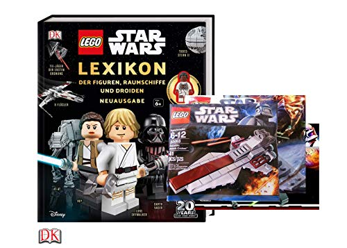 Unbekannt Lego Star War: Lexikon der Figuren, Raumschiffe und Droiden + 1. Lego Star Wars Beutel (sortierte Auswahl)