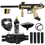 Maddog Tippmann Cronus Basic Silver CO2 Paintball Gun Marker Starter Package - Black/Tan