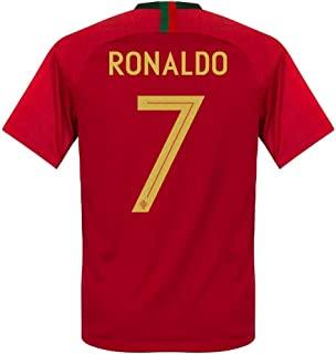 Official Portugal Home 2018/19 Ronaldo Jersey Adult Small