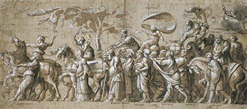 The Museum Outlet – Triomphe de Wealth. C.1532–34, Tendue sur toile Galerie enveloppé. 50,8 x 71,1 cm