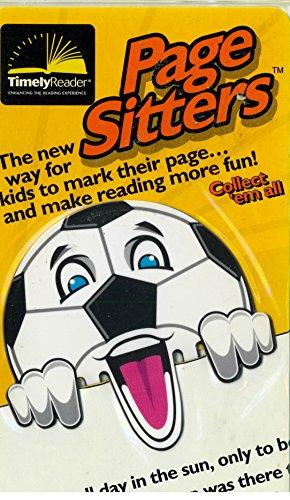 Timely Reader Page Sitter Kids Bookmark (Dribble Kid Soccer)