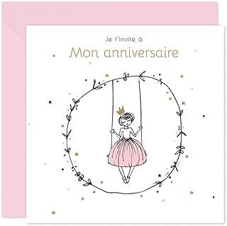 Amazon Fr Invitation Anniversaire Fille