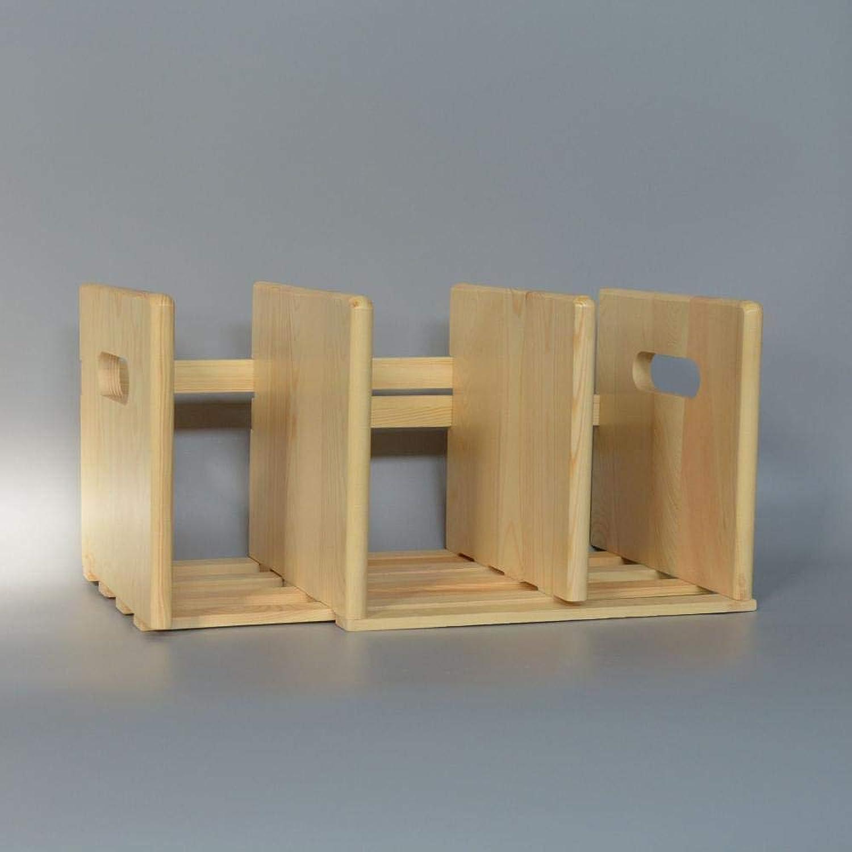 Yunfeng Bookshelf,Floor-Standing Multifunctional Rack Desktop Bamboo Folding Storage Finishing Shelf